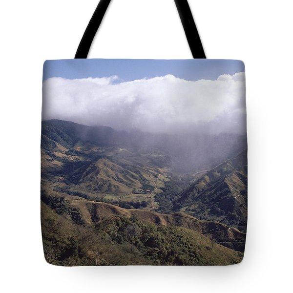 Deforested Hills, Monteverde Cloud Tote Bag