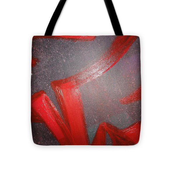 Deliberate Devious Delivery Tote Bag by Paula Andrea Pyle