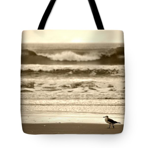 Tote Bag featuring the photograph Deliberate Solitude by Kelly Nowak