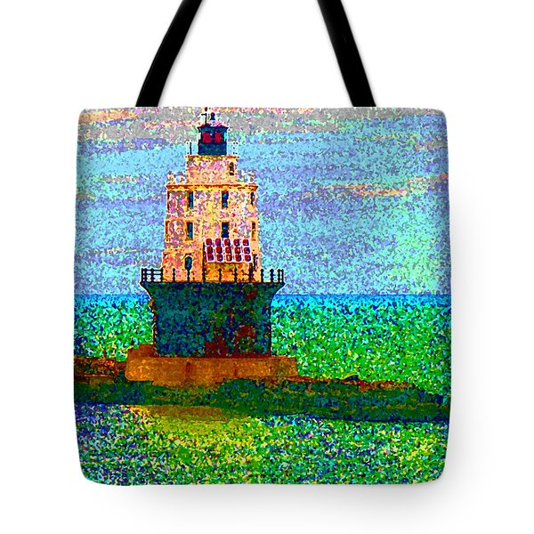 Tote Bag featuring the photograph Delight House by Clara Sue Beym