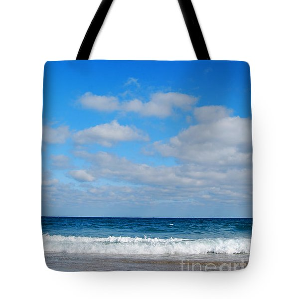 Delray Sea And Sky Tote Bag