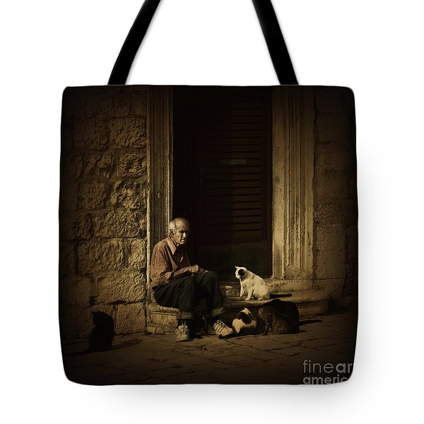 Dementia Tote Bag by Andrew Paranavitana