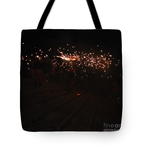 Demons Down The Stairs Tote Bag