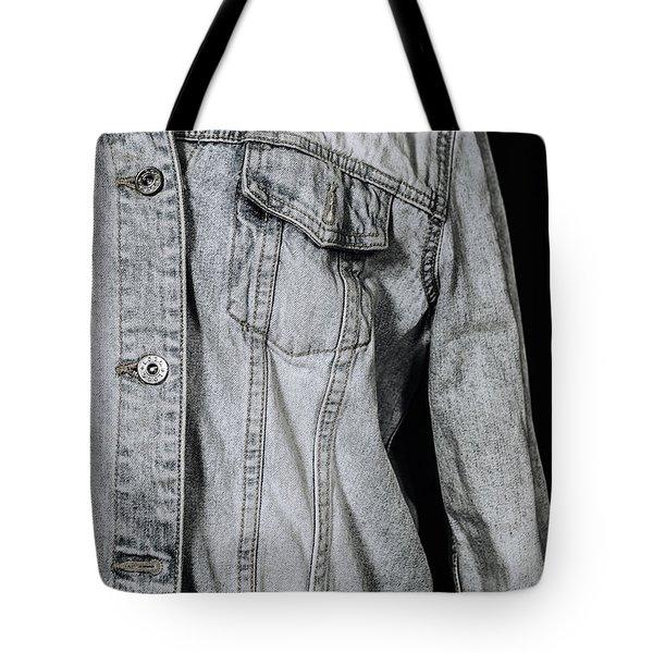 Denim Jacket Tote Bag by Joana Kruse