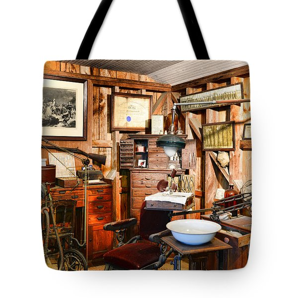 Dentist - The Dentist Office Tote Bag by Paul Ward