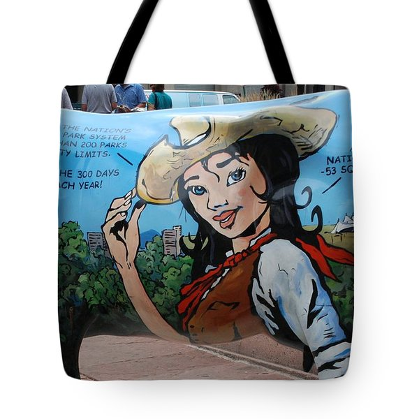 Tote Bag featuring the photograph Denver by Dany Lison