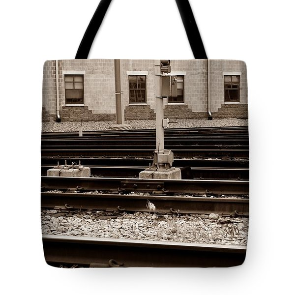 Depot Tote Bag by Luke Moore