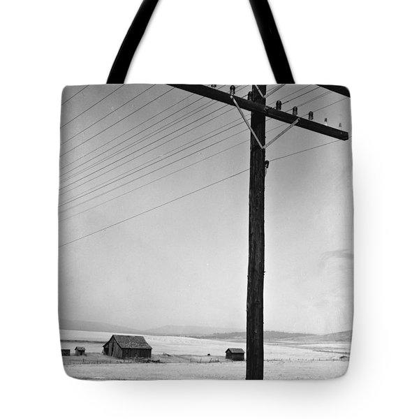 Depression Era Rural America Tote Bag by Photo Researchers