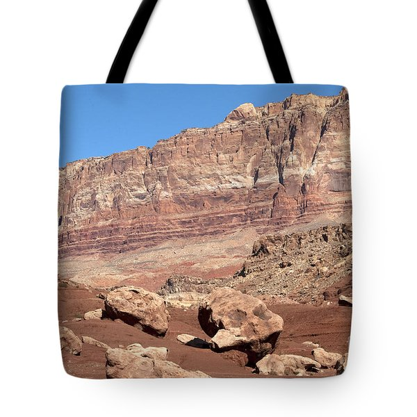 Tote Bag featuring the photograph Desert Colors by Bob and Nancy Kendrick