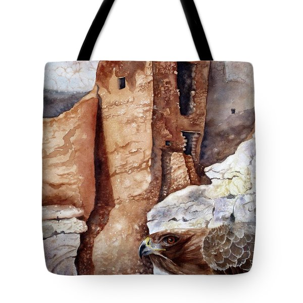Desert Dwellers Tote Bag by Mary McCullah