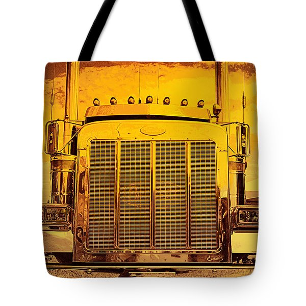 Desert Hauler Abstract Tote Bag