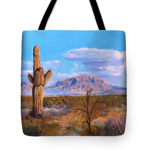 Desert Scene 4 Tote Bag by M Diane Bonaparte