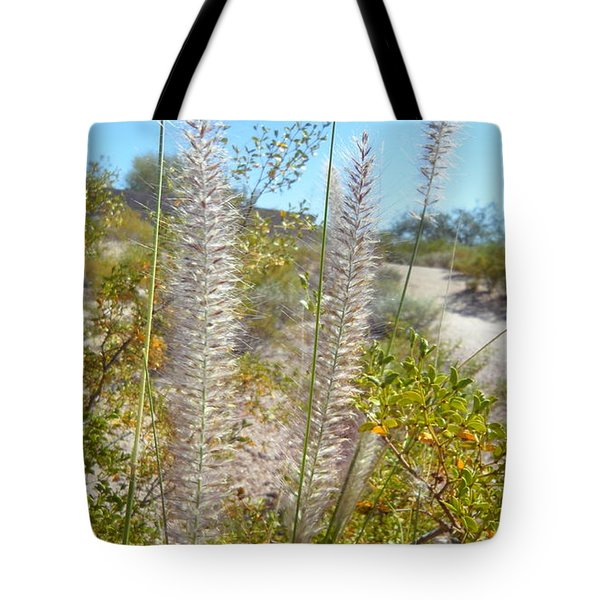 Tote Bag featuring the photograph Desert Trail by Kume Bryant