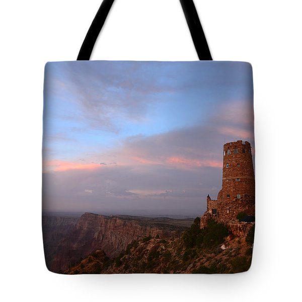 Desert View Watchtower Tote Bag by Cassie Marie Photography