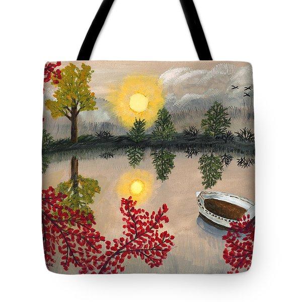 Deserted Tote Bag by Susan Schmitz