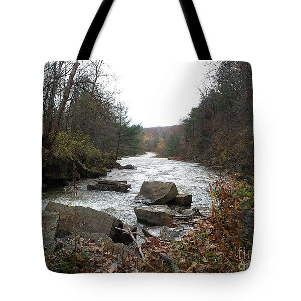 Tote Bag featuring the photograph Destination Atlantic by Christian Mattison