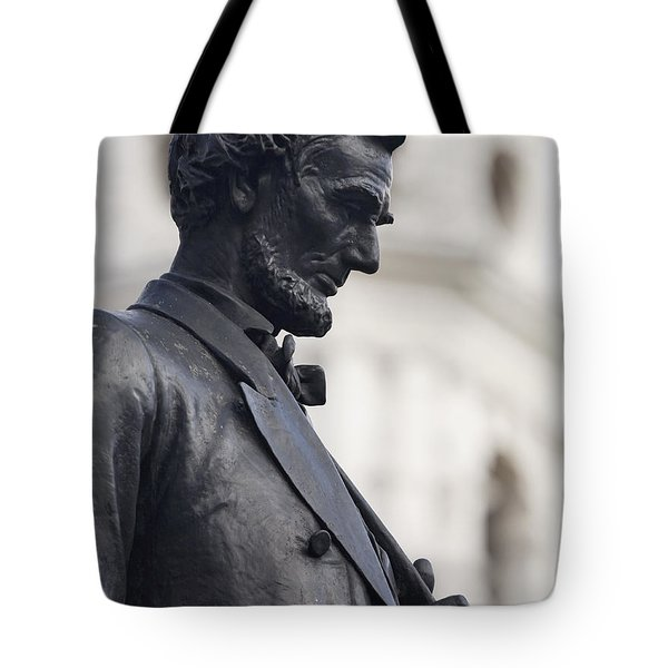 Detail Of Abraham Lincoln Tote Bag