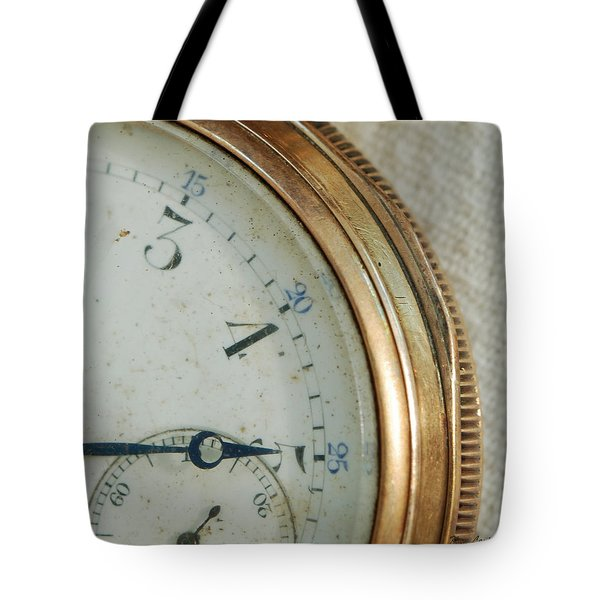 Tote Bag featuring the photograph Details Of Time 2 by Kay Lovingood