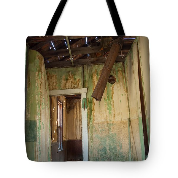 Tote Bag featuring the photograph Deterioration by Fran Riley