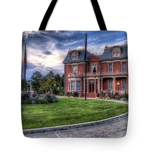 Devereaux Mansion Tote Bag