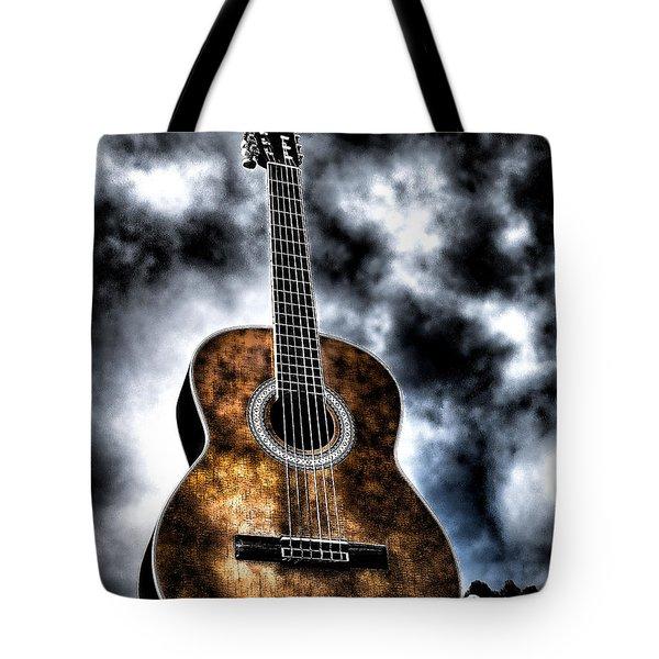 Devils Acoustic Tote Bag