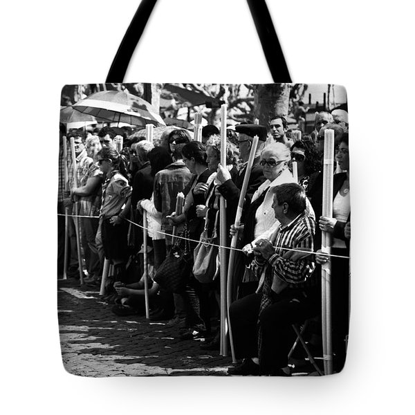Devotees Tote Bag by Gaspar Avila