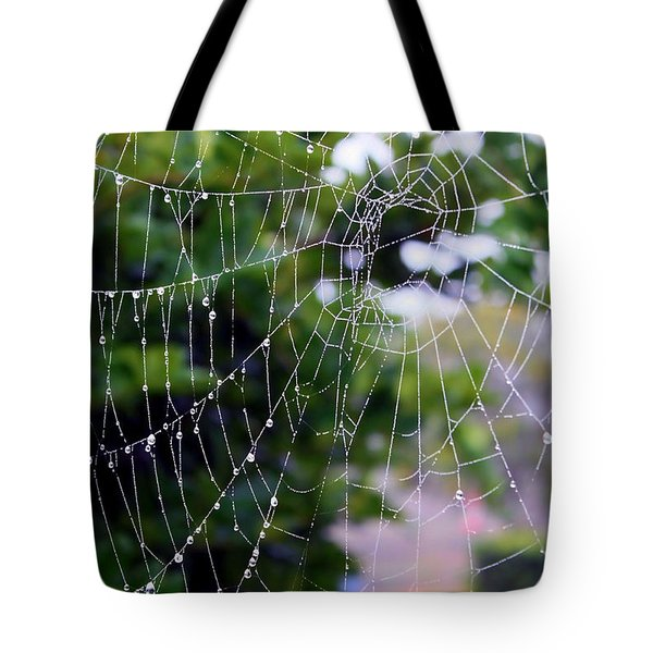 Dewdrops Dimension Tote Bag by Carol Groenen