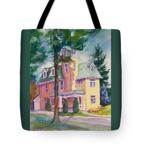 Dewey-radke Glowing Tote Bag by Kathy Braud