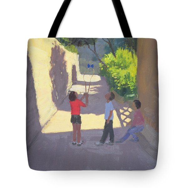 Diabolo France Tote Bag by Andrew Macara