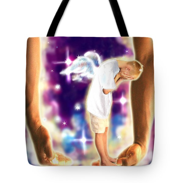 Diamond-meeks.angelic Tote Bag