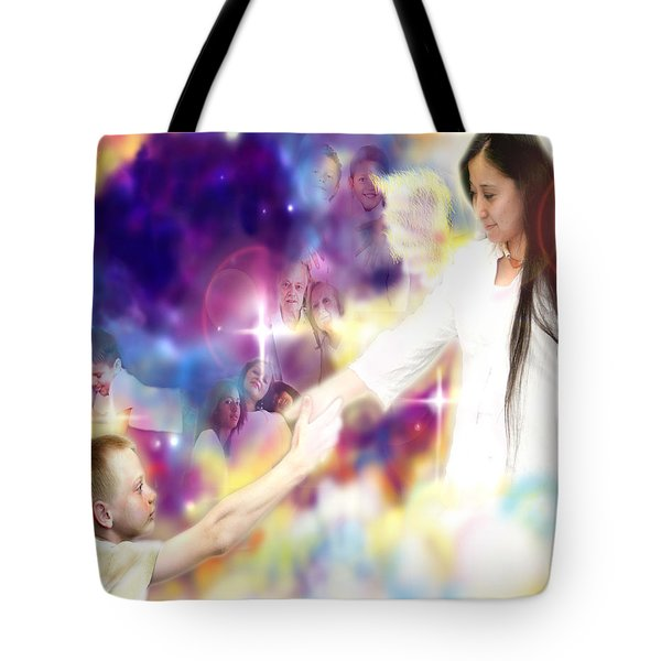 Diamond-wagner.angelic Tote Bag