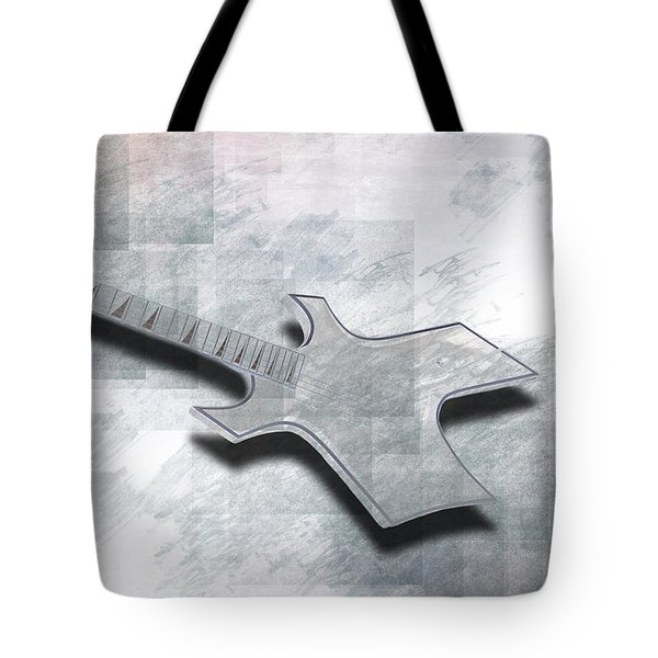 Digital-art E-guitar IIi Tote Bag by Melanie Viola