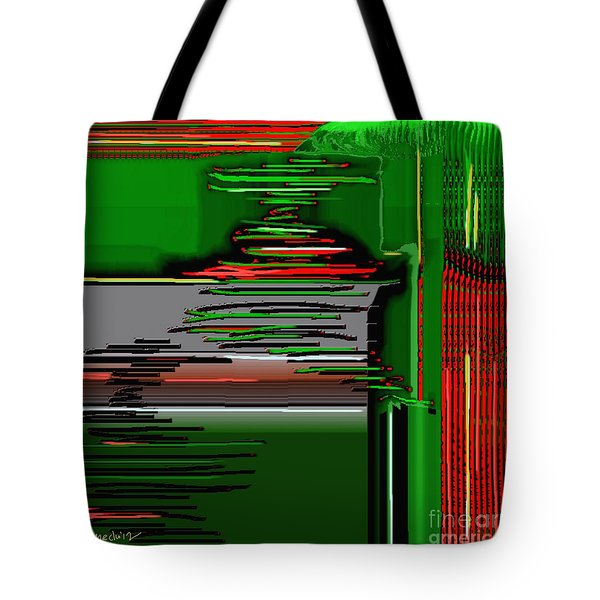 Digital Design 384 Tote Bag by Nedunseralathan R