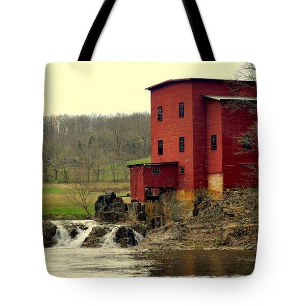 Dillard Mill 2 Tote Bag by Marty Koch