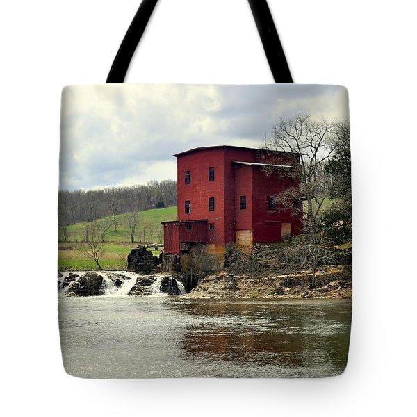 Dillard Mill Tote Bag by Marty Koch
