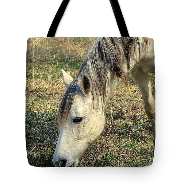 Tote Bag featuring the photograph Dinner Time by Marty Koch