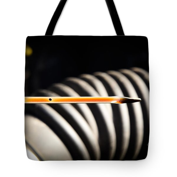 Dipstick Tote Bag by Photo Researchers
