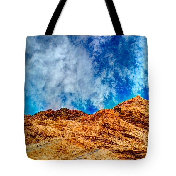 Dirt Mound And More Sky Tote Bag