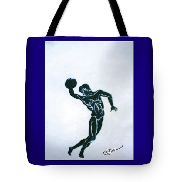 Disc Thrower Tote Bag