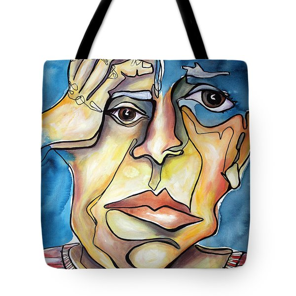 Disjointed Thought Tote Bag