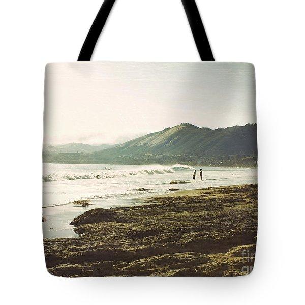 Distant Conversations Tote Bag