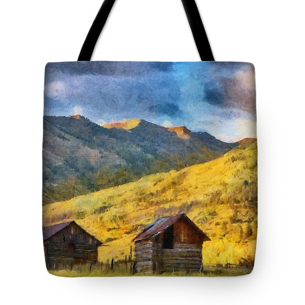Distant Storm Tote Bag by Jeff Kolker