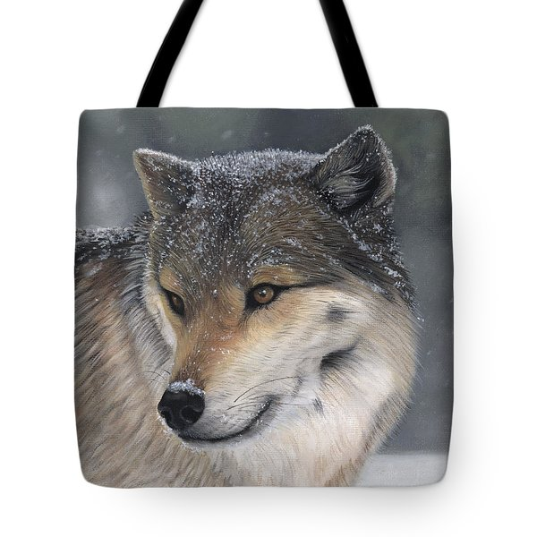 Tote Bag featuring the painting Distraction by Tammy Taylor