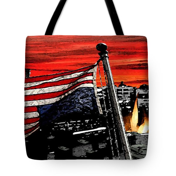 Distress Tote Bag by Monday Beam