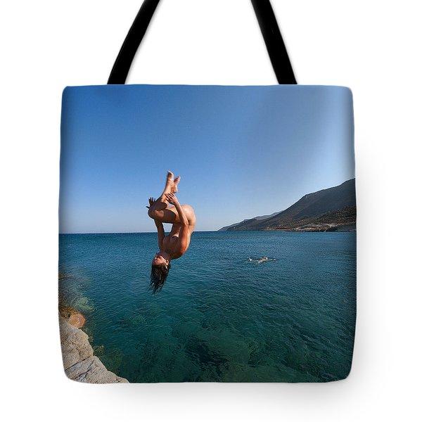 Dive Into The Sea by Manolis Tsantakis