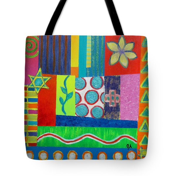 Diversity Has Proven God Is Love V2 Tote Bag by Jeremy Aiyadurai