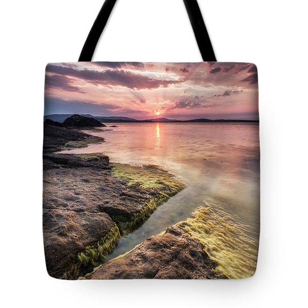 Divine Sunset Tote Bag by Evgeni Dinev