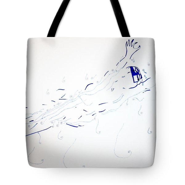 Diving Tote Bag by Gloria Ssali