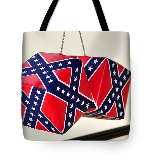 Dixie Dice Tote Bag by David Lee Thompson