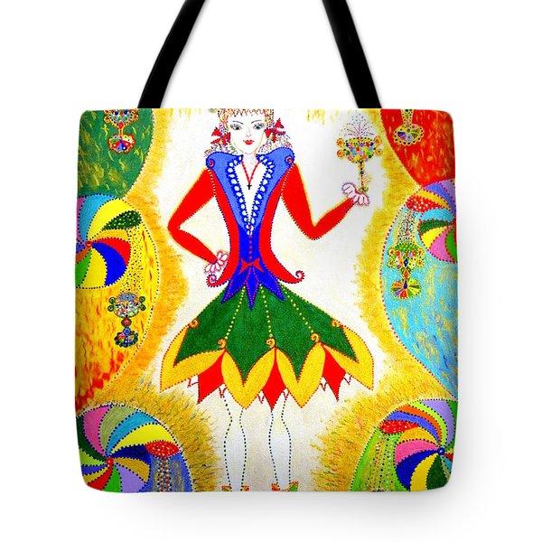 Dna Woman-eternal Life Tote Bag